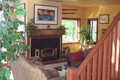 Relax in Front of the Woodstove in the Inviting Living Room